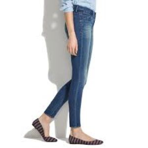 MADEWELL Skinny Skinny Ankle Jeans Size 26